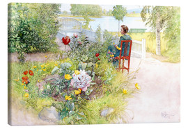 Tela  Summer in Sundborn - Carl Larsson