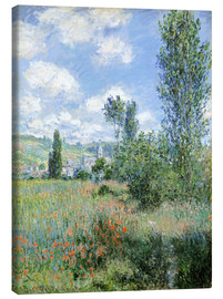 Claude Monet - Way through the poppies