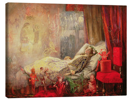 Tela  The Stuff that Dreams are Made Of - John Anster Fitzgerald