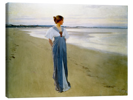 Stampa su tela  The Seashore - William Henry Margetson