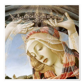 Poster Premium Madonna of the Magnificat (detail)