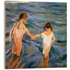 Legno  Children in the Sea - Joaquin Sorolla y Bastida