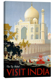 Stampa su tela  India - Taj Mahal - Travel Collection