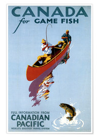 Poster  Canada for Game Fish