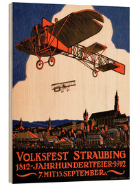 Stampa su legno  People in Straubing 1812 - Advertising Collection
