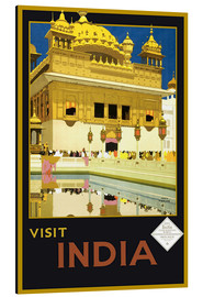 Stampa su alluminio  India - Delhi House - Travel Collection
