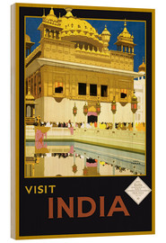 Stampa su legno  India - Delhi House - Travel Collection