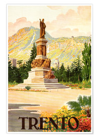 Poster Premium  Trent, South Tyrol in Italy - Travel Collection