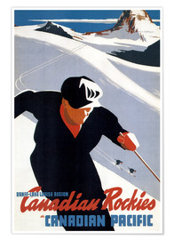 Poster Premium  Canadian Rockies - Travel Collection