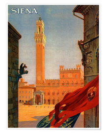 Poster Premium  Siena, Toscana - Travel Collection