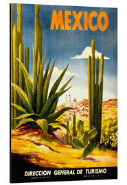 Stampa su alluminio  Mexico Cactus - Travel Collection