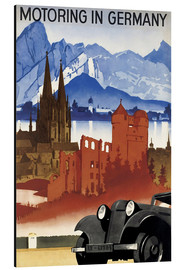 Stampa su alluminio  Motoring in Germany - Advertising Collection