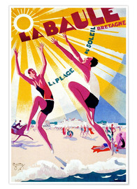 Poster Premium  La Baule - Brittany - Travel Collection