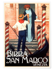 Poster Premium  Birra San Marco - Travel Collection
