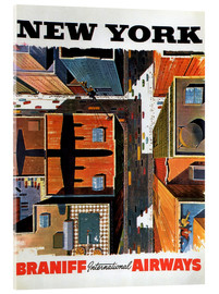 Stampa su vetro acrilico  New York City - Travel Collection