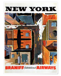 Poster Premium  New York City - Travel Collection