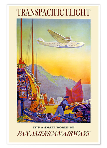 Poster Premium It's a small world (Pan American Airways)