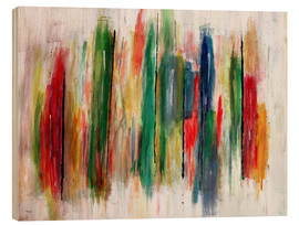 Legno  Abstract Painting - teddynash