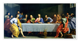 Poster Premium The Last Supper, called 'The Little Last Supper'