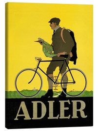 Stampa su tela  Adler Bicycles - Advertising Collection