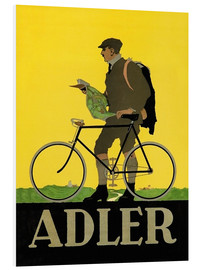 Stampa su PVC  Adler Bicycles - Advertising Collection