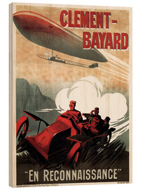 Stampa su legno  Clement Bayard Automobile - Advertising Collection