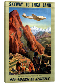 Stampa su tela  Skyway to Inca Land - Travel Collection