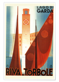 Poster Premium  Italy - Riva Torbole (Lago di Garda) - Travel Collection