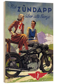 Legno  With Zündapp over the hills