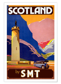 Poster Premium  Experience Scotland - Travel Collection