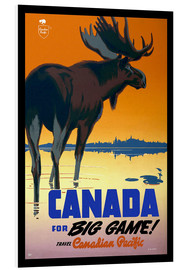 Stampa su schiuma dura  Canada - big game - Travel Collection