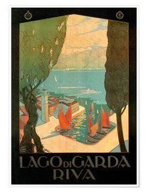 Poster Premium  Italy - Riva del Garda - Travel Collection