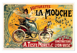Poster Premium  Voiturette La Mouche - Advertising Collection