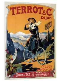 Stampa su PVC  Terrot & Cie Dijon bicycles and motorcycles - Advertising Collection