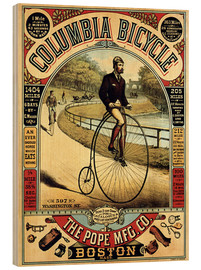 Stampa su legno  Columbia Bicycles - Advertising Collection