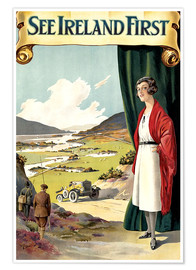 Poster Premium  see Ireland first - Travel Collection