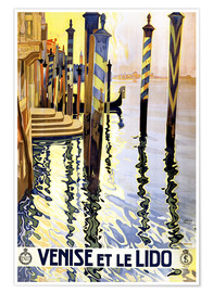 Poster Premium  Italy - Venice - Travel Collection