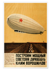 Poster Premium  Russian Zeppelin - Travel Collection