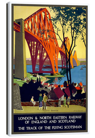 Tela  Forth Bridge London Railway