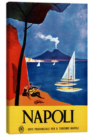 Stampa su tela  Italy - Naples - Travel Collection