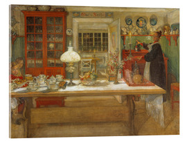 Carl Larsson - Getting Ready for a Game