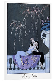 Stampa su schiuma dura  The Fire - Georges Barbier