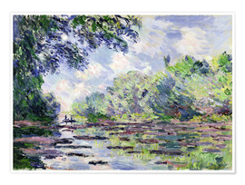 Poster Premium Seine at Giverny