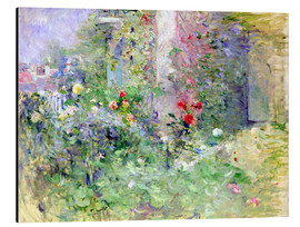Alluminio Dibond  The Garden at Bougival - Berthe Morisot