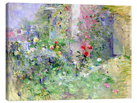 Tela  The Garden at Bougival - Berthe Morisot