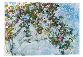 Forex  The Roses - Claude Monet