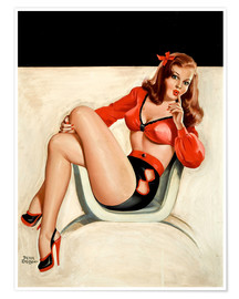 Poster Premium  Pin Up - The Quiet - Peter Driben