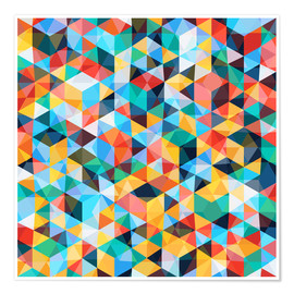 Poster Premium  Abstract Mosaic Pattern - TAlex