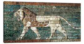 Tela  Lion mosaic at the temple of Babylon