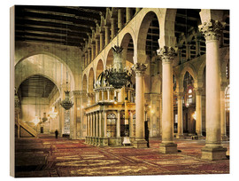 Stampa su legno  The Umayyad Mosque in Damascus